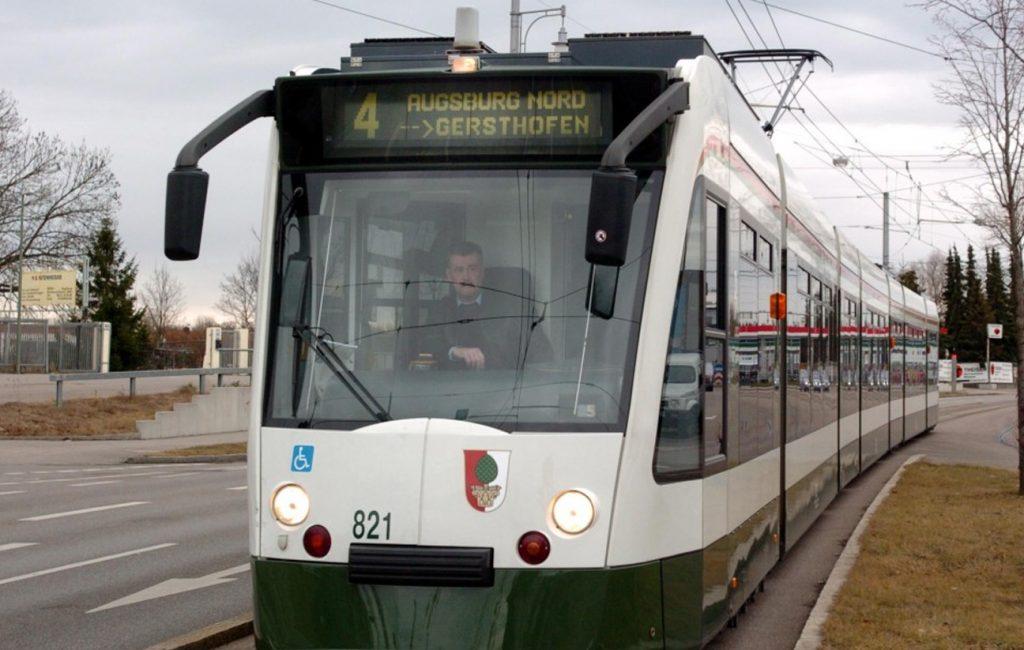 Eine Straßenbahn für Gersthofen