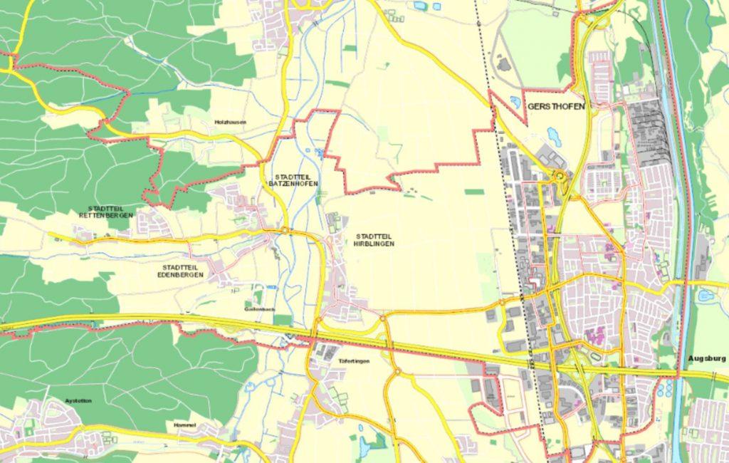 Gersthofens Westen