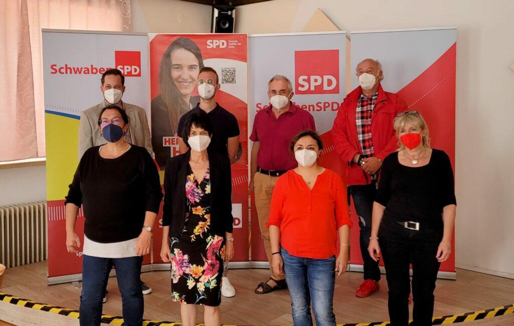 Die SPD in Gersthofen hat einen neuen Vorstand: Herzlichen Glückwunsch